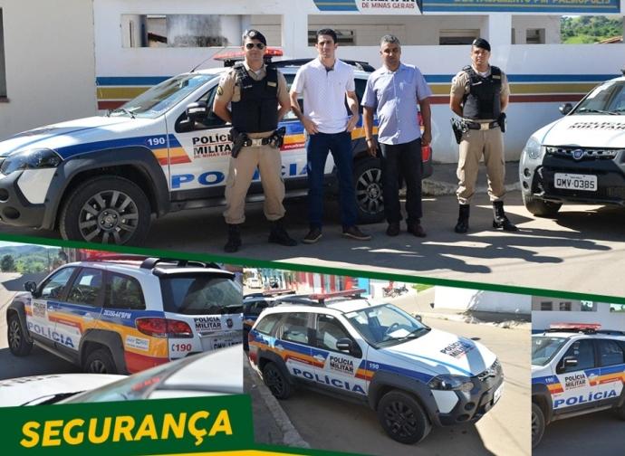 Município de Palmópolis recebe viatura policial